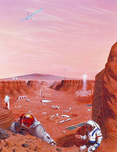 Colonization Of Mars Wikipedia