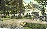 PostcardNewCanaanCTHamptonInn1909