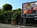Poster advertisement board, Station Road, Swindon - geograph.org.uk - 1482339.jpg