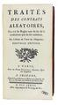 Pothier -Traités des contrats aléatoires, 1777 - 326.tif