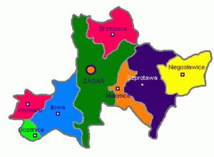 Żagań County