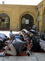 Prayers of Noon - Grand Mosque of Nishapur -September 27 2013 38.JPG