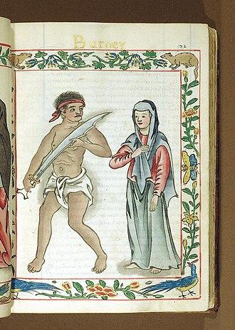 Boxer Codex - Image: Pre colonial Native