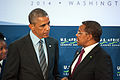 President Obama Speaks With Tanzanian President Kikwete.jpg
