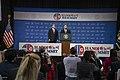 President Trump and Secretary Pompeo Speak to the Press (46512866514).jpg