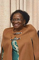 President of National Assembly, Veronica Macamo, at Maputo, in Mozambique (cropped).jpg