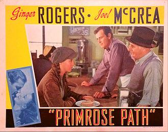 Primrose Path (film) - Lobby card for Primrose Path