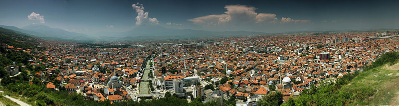 File:Prizren City from the Castle.jpg
