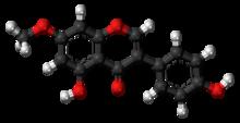 Prunetin-molekulo