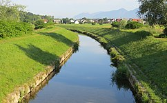Psata River at Topole Menges Slovenia.JPG