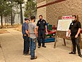 Public Information Officers presenting North Complex West Zone information to community in Magalia, California 01.jpg
