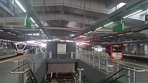 Putra Heights LRT station - Image: Putra Heights LRT Terminal