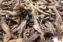 Qi Lan Oolong tea leaf close.jpg
