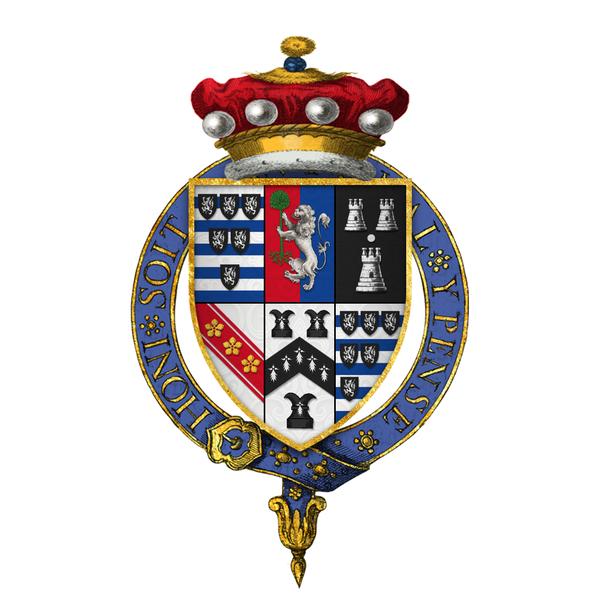 Quartered arms of sir william cecil 1st baron - Inmobiliaria baron y baron ...