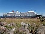 Queen Elizabeth at Pier 24 in Port of Tallinn 3 August 2018.jpg