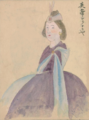 Queen Victoria by Japanese doctor Takahashi Yūkei 1862.png