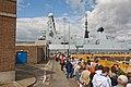 Queue to see HMS Daring - geograph.org.uk - 1405224.jpg