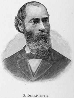 George DeBaptiste - Richard DeBaptiste, George's close relative
