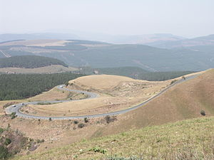 Provincial routes (South Africa) - Image: R37 Long Tom Pass 001