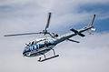 RAN Squirrel helicopter during International Fleet Review 2013.jpg