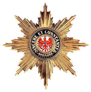 Order of the Red Eagle - Image: REO GC breast star