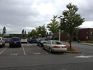 Redmond High School (Washington) - Staff/Student Front Parking Lot