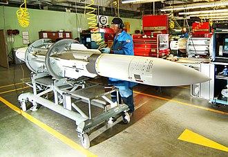 RIM-66 Standard - A RIM-66 being assembled.