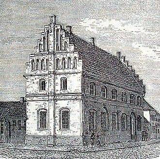 Ribe - City hall.