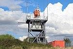 Radar antenna, Liverpool John Lennon Airport 3.jpg