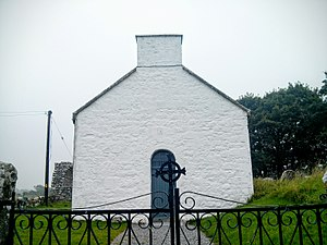 Rahan, County Offaly - Image: Rahan Old Church 1