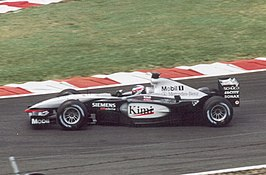 Kimi Räikkönen in de MP4-17D