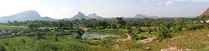 Ramanagara district - View from Ramadevarabetta