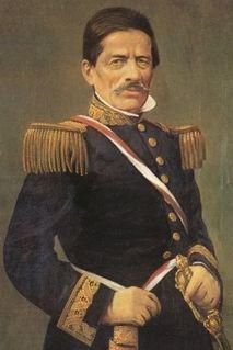 Ramón Castilla president of Peru