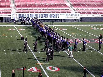 Rancho Cucamonga High School - The Rancho Cucamonga Marching Cougars band, 2004