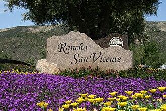 San Diego Country Estates, California - Rancho San Vicente