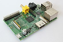 """Raspberry Pi"" computer model-B Rev1"