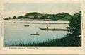 Razglednica Cerkniškega jezera z vasjo Otok 1910.jpg