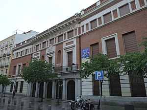 Spanish Royal Academy of Sciences - Seat of the Spanish Royal Academy of Sciences (Madrid).