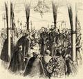 Recepção de Sua Magestade a Rainha D. Estephania no pavilhão real (1858).png