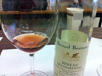 Pineau des Charentes - A red Pineau des Charentes.