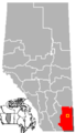 Redcliff, Alberta Location.png