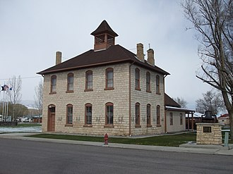 Redmond, Utah - The old Redmond Town Hall