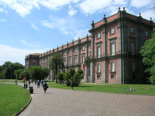 Palace of Capodimonte palace now used as a museum