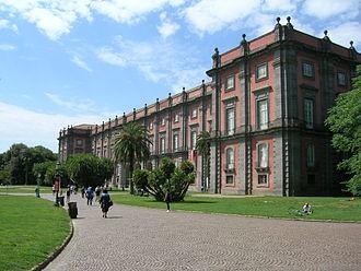 Palace of Capodimonte - Royal Palace of Capodimonte façade