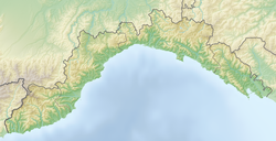Tinetto is located in Liguria