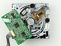 Renault 8200607915 - CD player bottom view - controller board upside down -1190.jpg