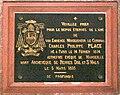 Rennes - Cathédrale Saint-Pierre - Plaque commémorative du cardinal Charles Philippe Place - 20080706.jpg