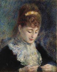 Woman Crocheting (Femme faisant du crochet)