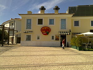 English: Chili's restaurante at Telheiras, Lis...
