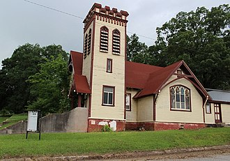National Register of Historic Places listings in Howard County, Arkansas - Image: Restoration project Howard Co. Historical Society, 2014